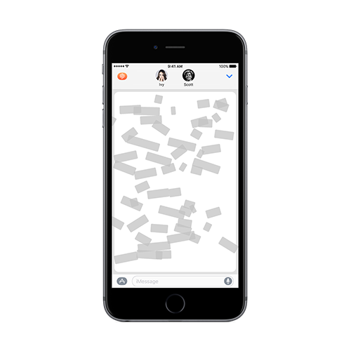 Confide for iMessage App Screenshot
